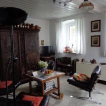 Wohnzimmer Familien Ferienhaus Oberfranken Issigau
